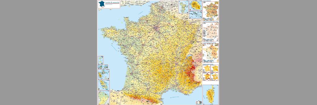 Une Carte Administrative De La France En Téléchargement Libre Et Gratuit